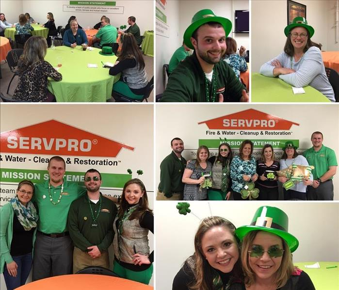 St. Patrick's Day Themed Bunco Event 3/2/16