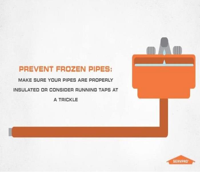 Why SERVPRO Prevent frozen pipes